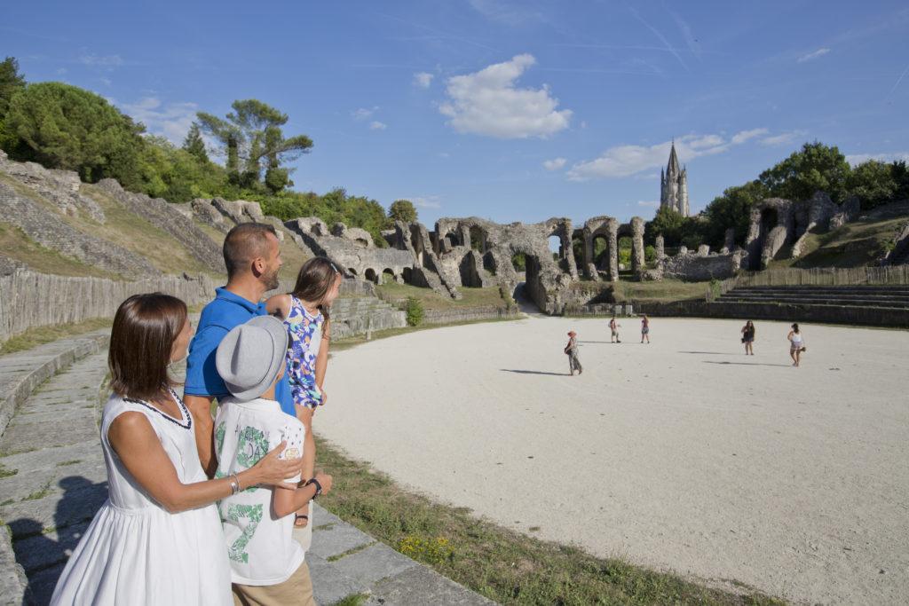 Saintes - amphithéâtre romain